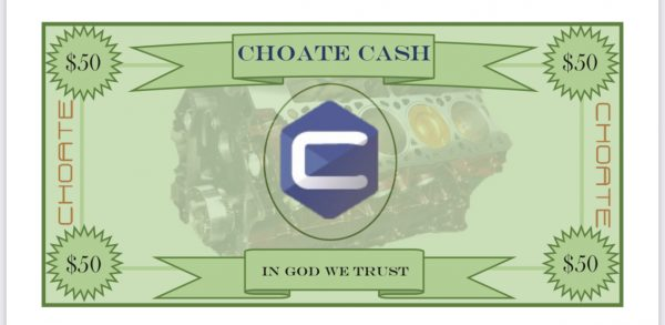 $50 CHOATE CASH