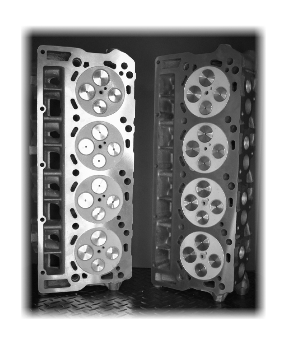Thermal Coated Cylinder Heads
